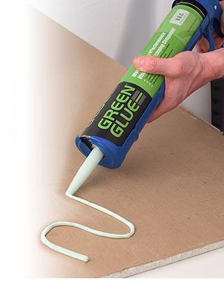 Жидкая звукоизоляция GreenGlue