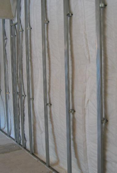 Пример шумоизоляции межквартирной стены