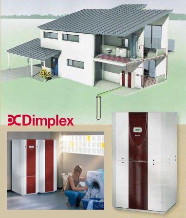 Тепловые насосы Dimplex вода-вода
