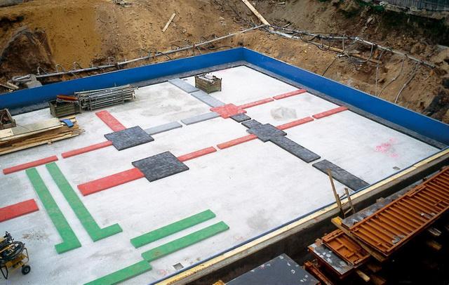 Sylomer - виброизоляция зданий