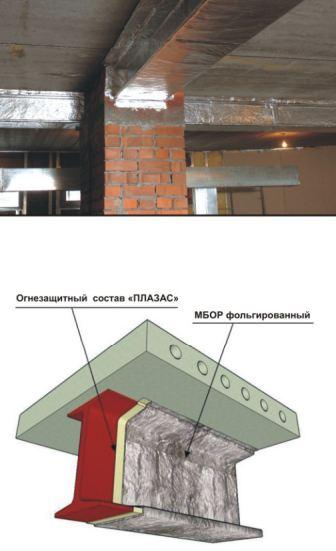 Системы конструктивной огнезащиты металлоконструкций ET Металл