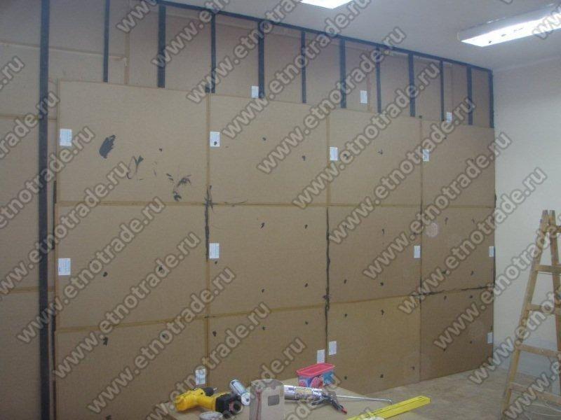 Второй слой панелей Фонстар-триплекс