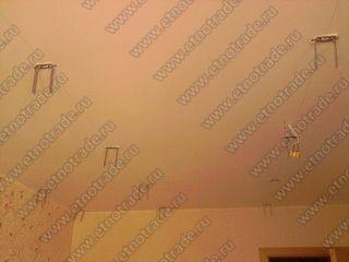 Виброподвесы на изолируемом потолке