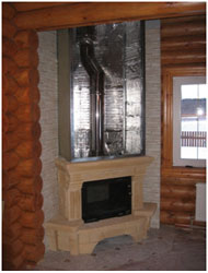Монтаж облицовки и изоляция элементов камина и стен фольгированным базальтовым картоном