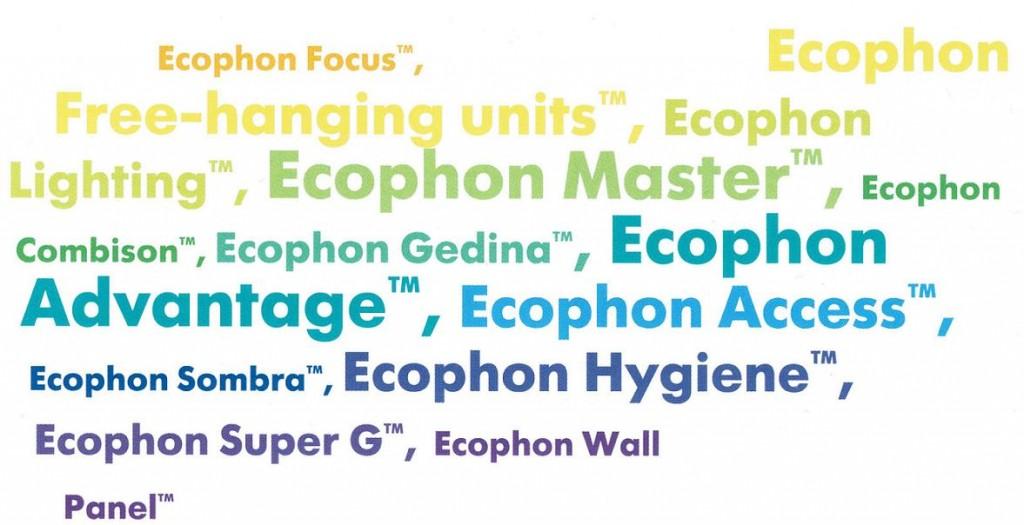 Акустические потолки и стеновые панели Экофон