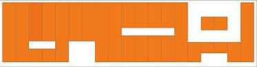 монтаж стеновых панелей Ecophon Wall Panel последовательно