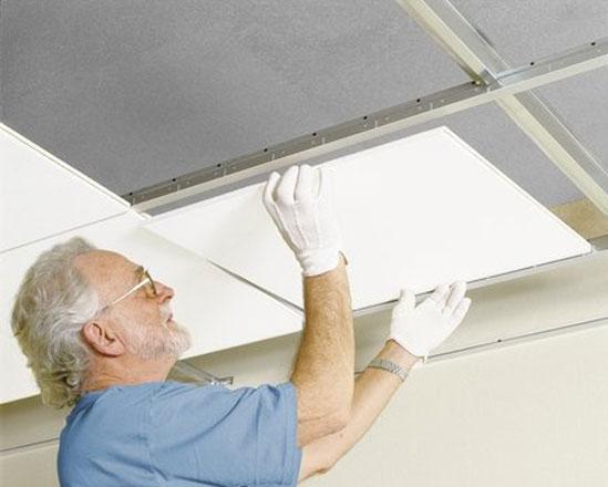 Акустические подвесные потолки в вашем доме