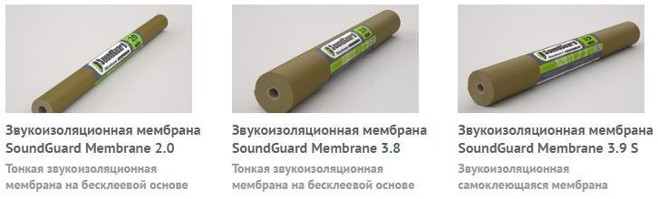 soundguard мембраны