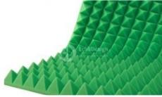 акустический поролон зеленый